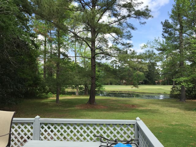 Gorgeous Golf Course View and a Relaxing Home! - New Bern - House