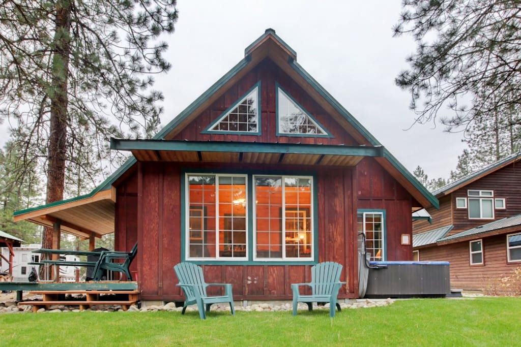 Tranquil 2br leavenworth cabin cabins for rent in for Leavenworth cabin rentals