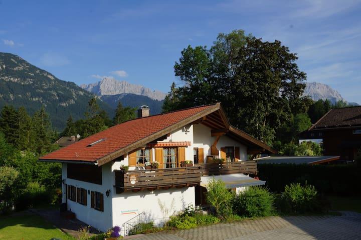 Ferienwohnung Soiernblick  Krün   - Krün - Appartement