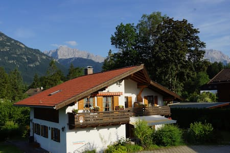 Ferienwohnung Soiernblick  Krün   - Krün - Apartemen