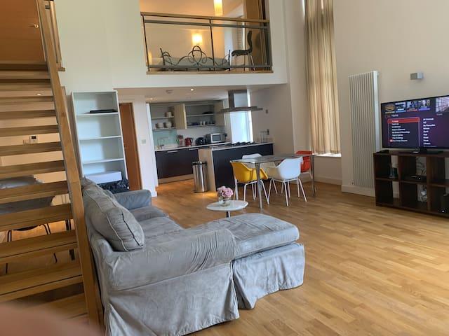 Fabulous Quartermile Duplex apartment