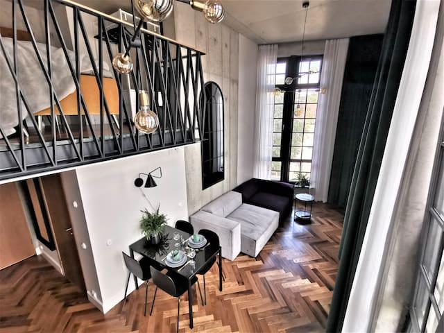 Exclusive luxury New York loft style apartment