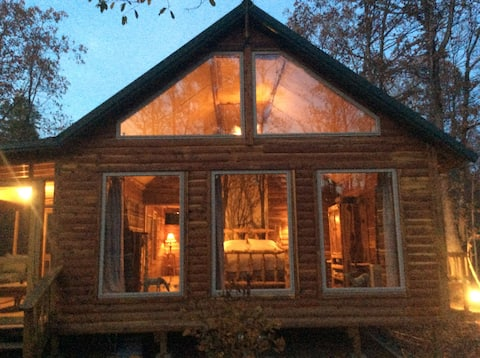 Panther Cabin, In the Ozark National Forest.