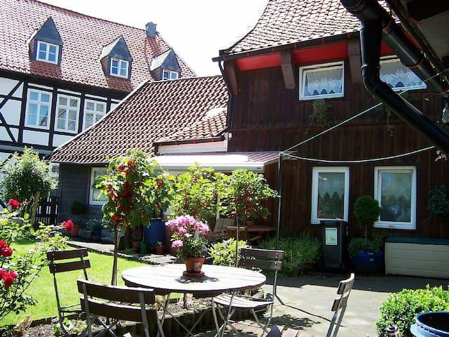Goslar Stadt ruhige Lage, Garten, bis 10 Personen - Goslar - Haus