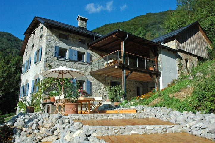 Luxury House In The Soca Valley - Slap ob Idrijci - บ้าน