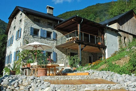 Luxury House In The Soca Valley - Slap ob Idrijci - Дом