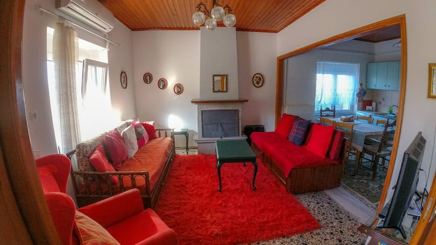 Experience life in a village next to Ioannina city