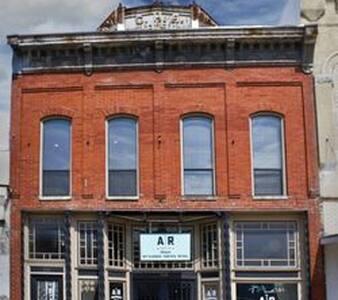 Historic Cotton Exchange loft apartment
