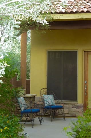 Privacy in Downtown Cave Creek with Garage