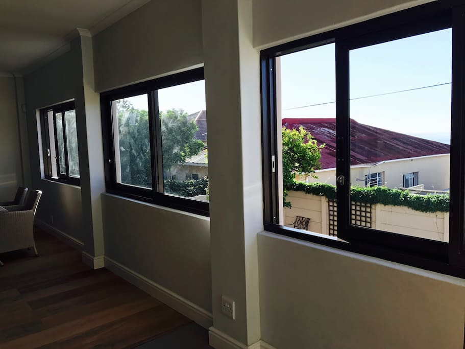 3 Large windows open to give you a sense of outdoors