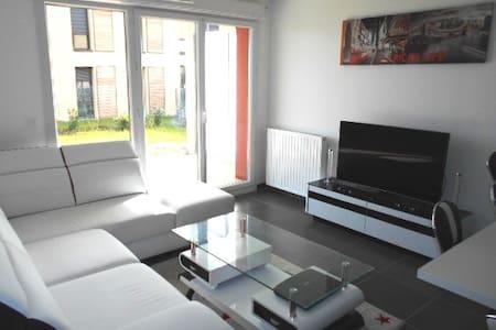 2 pièces avec jardin tout confort  - Lentilly - Apartamento