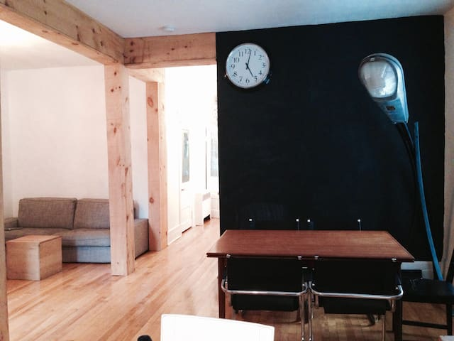 Big apartment in Plateau Mont-Royal - Montreal - Appartement