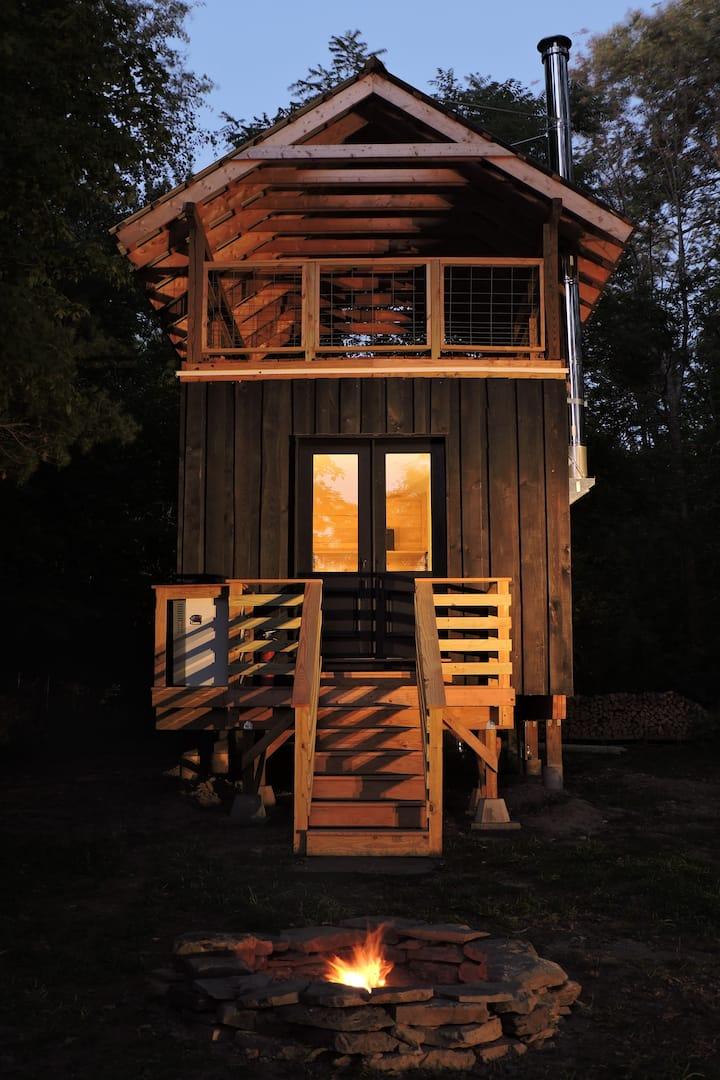 Upstate Offgrid Scandinavian Inspired Cabin