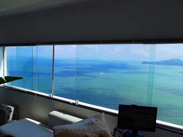 Studio  Ilha Porchat- Perfeito para casal !