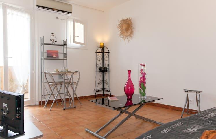 BASTIA  joli T2    terrasse+parking - Bastia - Apartamento