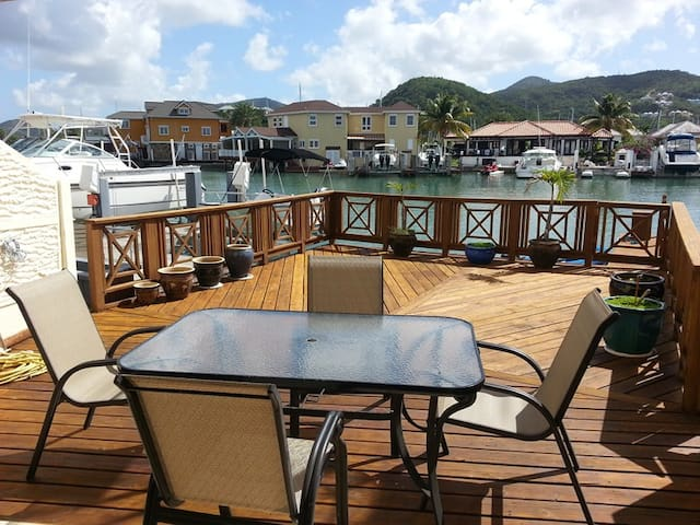 Villa 219,  South Finger, Jolly Harbour, Antigua - Jolly Harbour - House