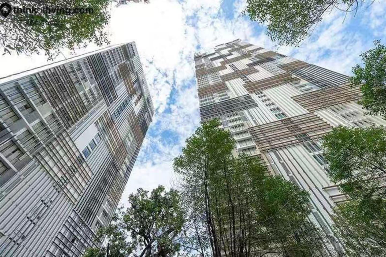 Actual photo of the facade  公寓外观实照
