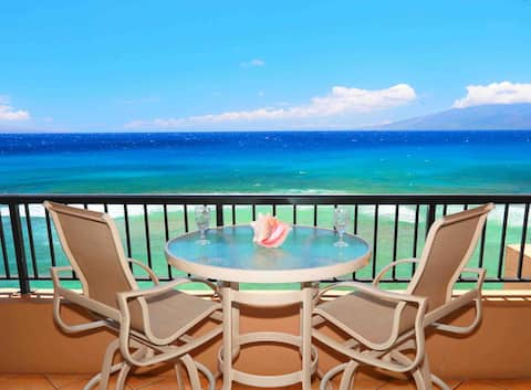 Amazing Sunsets~Direct Oceanfront Kaanapali 40%Off