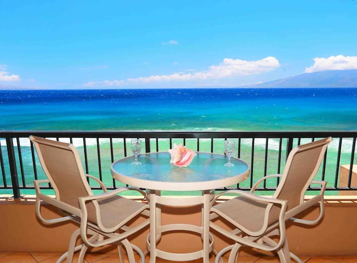 Amazing Sunsets~Direct Oceanfront Kaanapali 25%Off