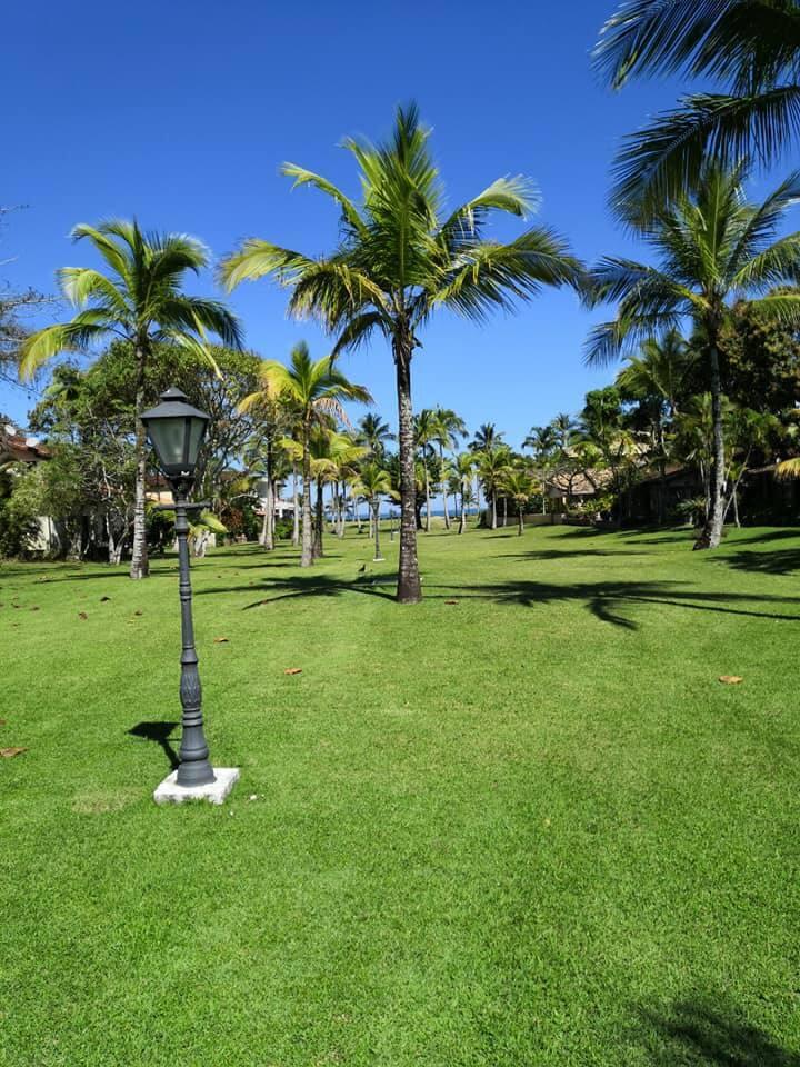 Jardim de acesso à praia