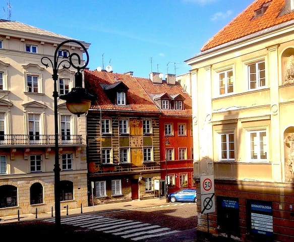 Studio Freta, Old Town, WiFi, quiet at night - Warsaw - Apartmen