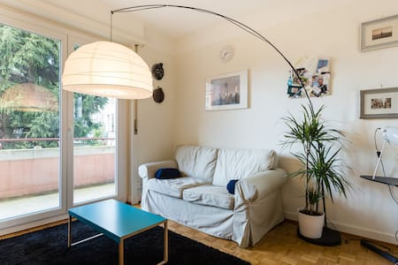 Lovely flat in center of lausanne.