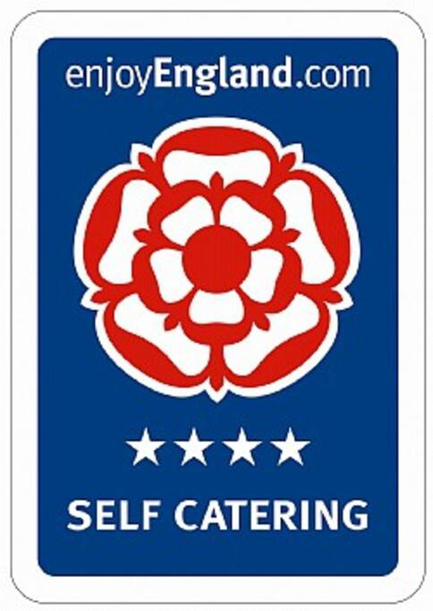 The Coach House has been awarded 4 stars (Self Catering) by Enjoy England and Quality in Tourism