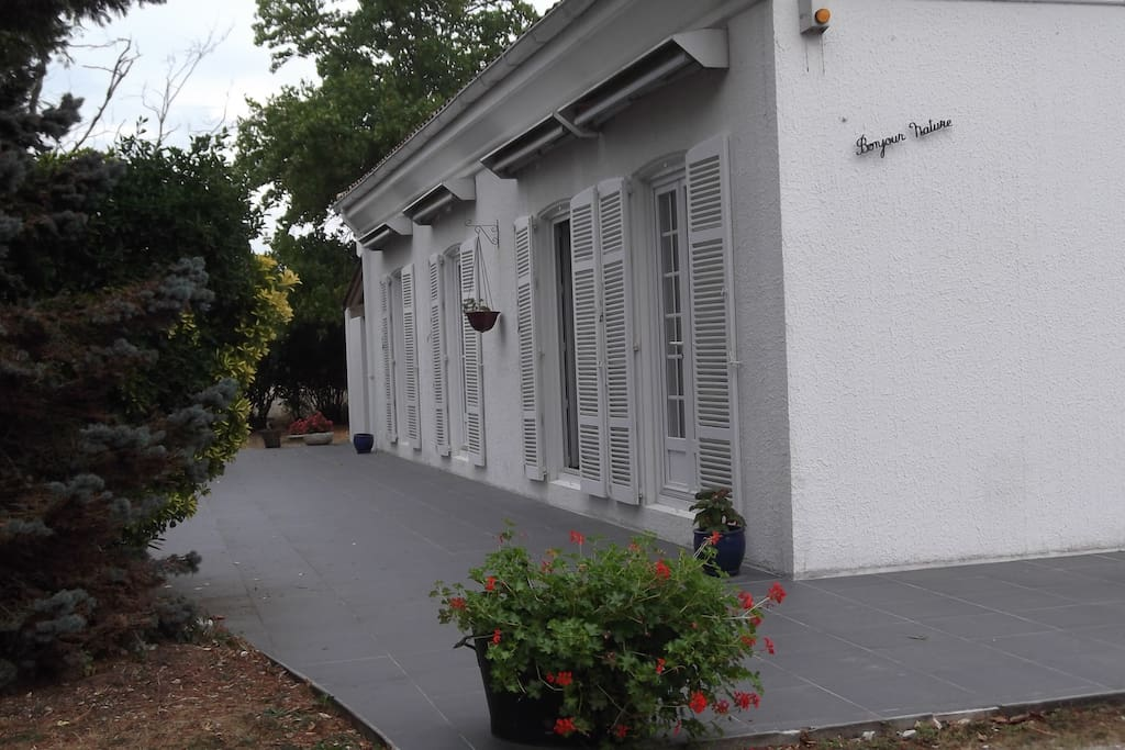 Chambre la coubre a 15hm de royan chambres d 39 h tes for Maison hote royan
