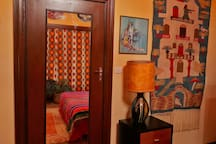 Mexican artwork and tapestries