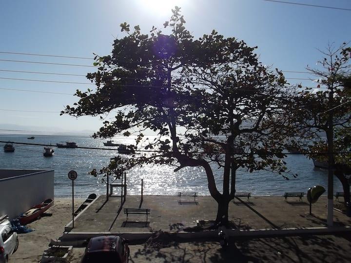 Loft frente ao mar, São Francisco, São Sebastião