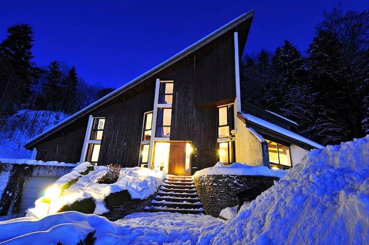 appart. de 150 m² pour 12 à 15 pers - Bogève - Apartment