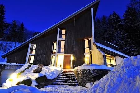 appart. de 150 m² pour 12 à 15 pers - Bogève - Appartement
