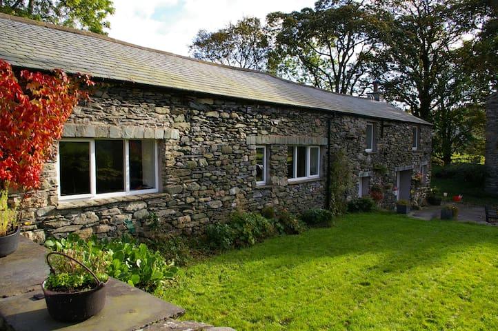 Rural retreat in Lake District Valley Longsleddale - kendal - Dom