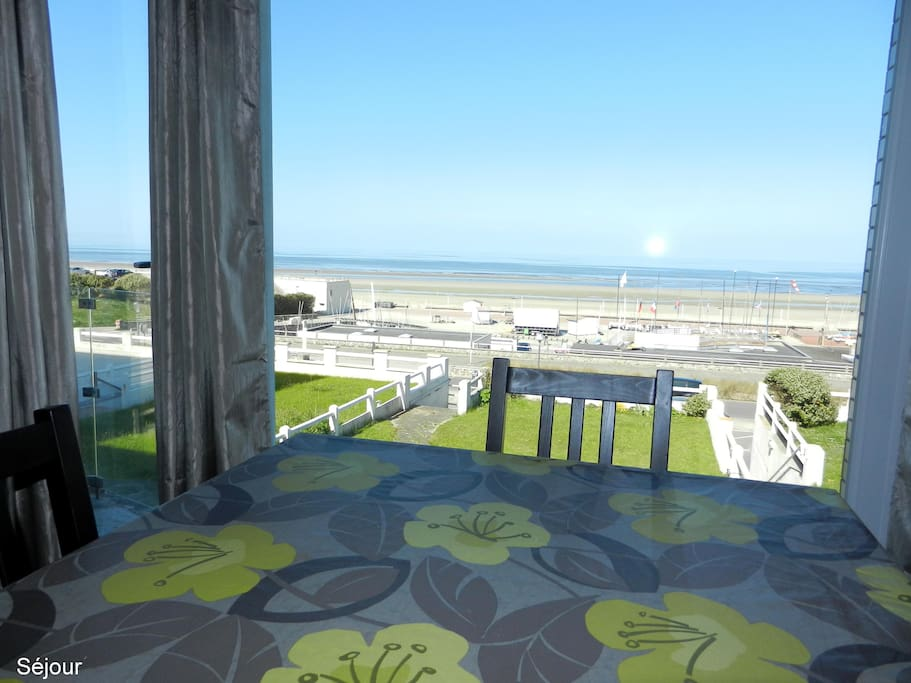 Le touquet app face mer 3 chambres appartements louer for Chambre d hote le touquet paris plage