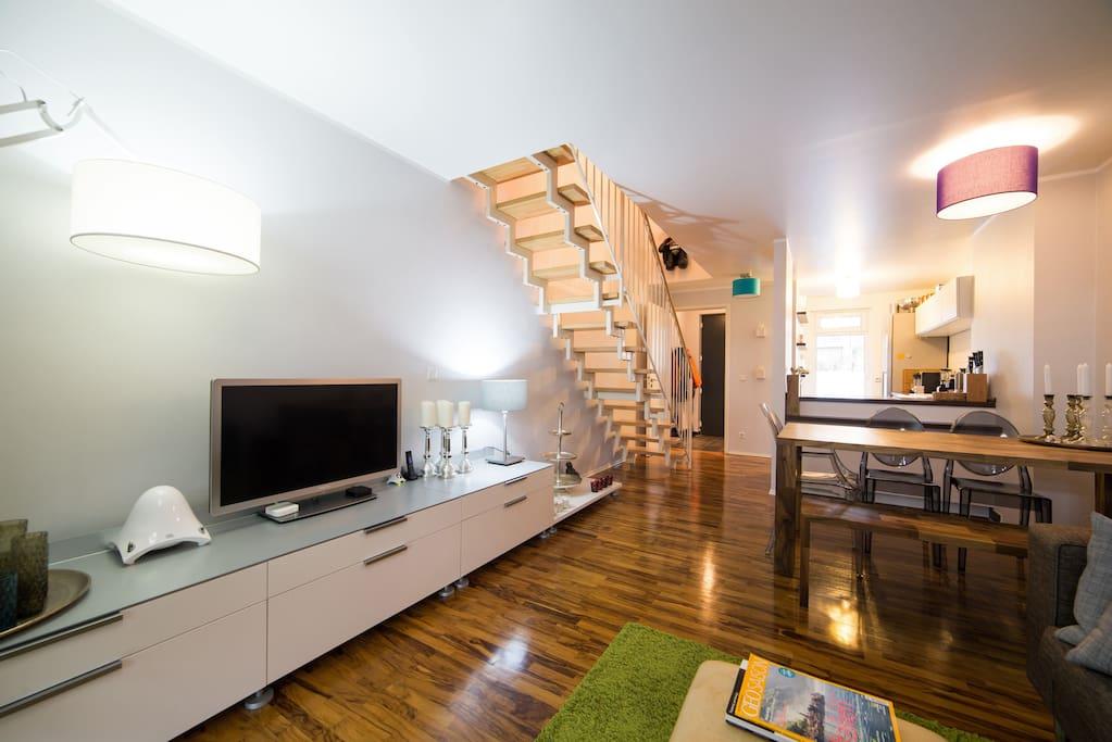 maisonette wohnung gegen ber ezb apartments for rent in. Black Bedroom Furniture Sets. Home Design Ideas