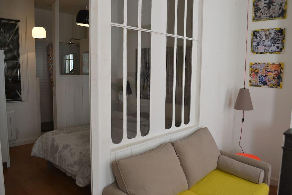 Superbe t2 bordeaux centre appartements louer for Bordeaux t2