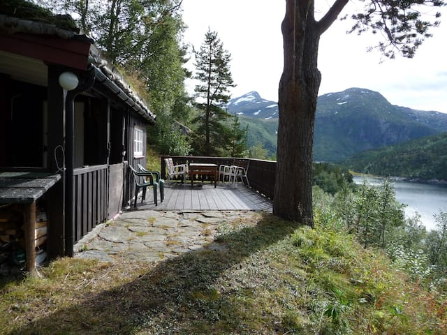 Norwegian Wood - a mountain cabin! - Tafjord - Stuga