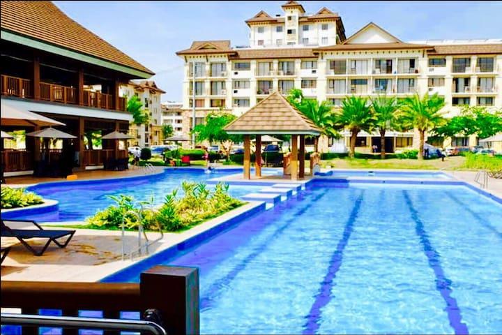 NEW FF Studio Condo Resort Haven+HiSpeed Broadband - Cebu City - Wohnung