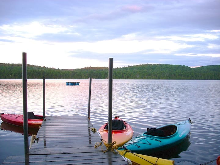 The Longhouse Suite on Gorman Lake