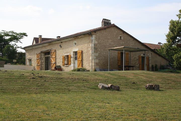 maison de campagne à 25 mn Bergerac - Bourgnac - House
