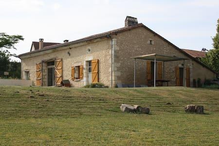 maison de campagne à 25 mn Bergerac - Bourgnac - Huis