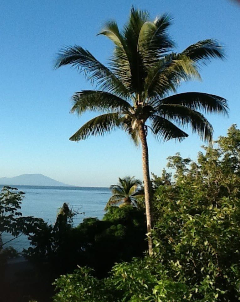 Looking out from our home towards St Vincent.