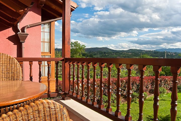 Apartamentos Rurales Antojanes. Centro de Asturias