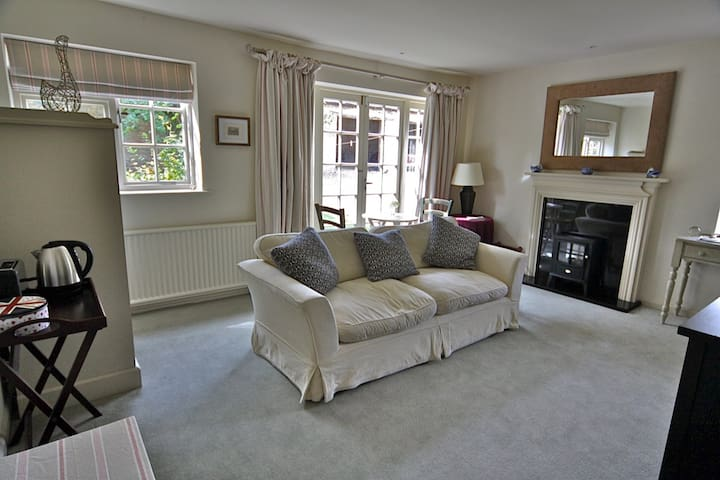 Rectory Farm Annexe has it own sitting room - complete with free WI-FI and flat screen TV.