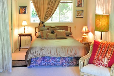 Music and Nature Lovers Retreat - Lagunitas-Forest Knolls - Bed & Breakfast