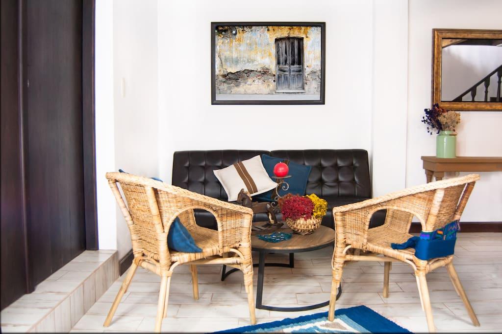 Villas de la Ermita 04 / Living Room