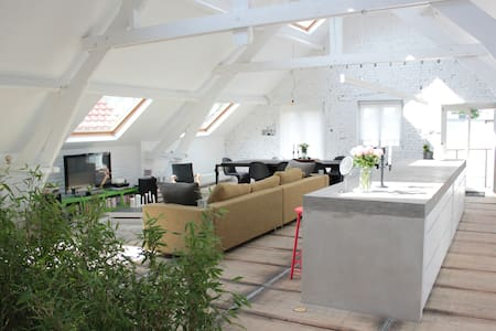 Spacious loft of 200 m2 in Brussels