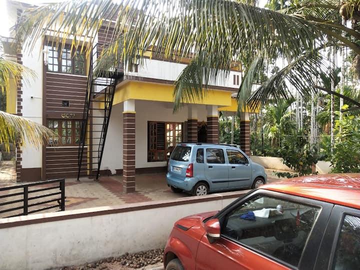 Service apartment / Guest house near kateel temple