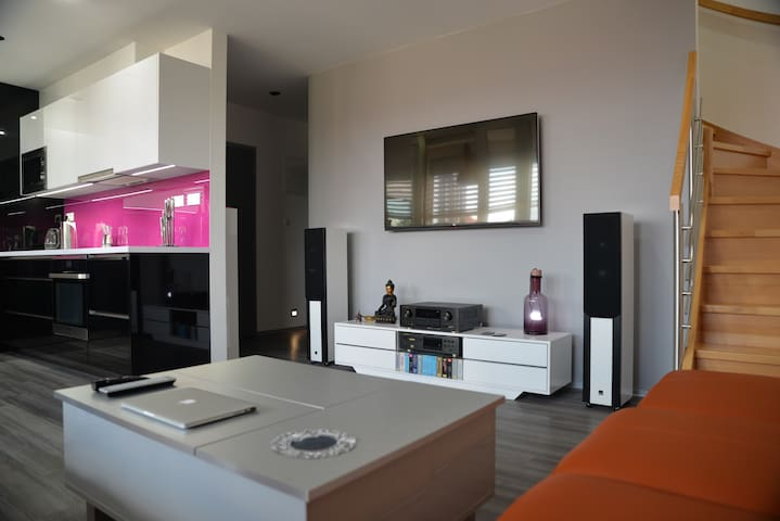 Luxury 2-story loft in most desirable part of town - Prague 6 - Appartement