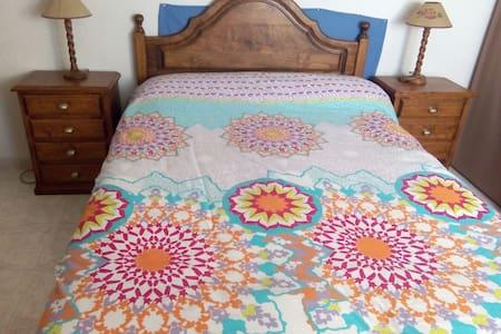 Habitación cama matrimonio centrico - Salamanca